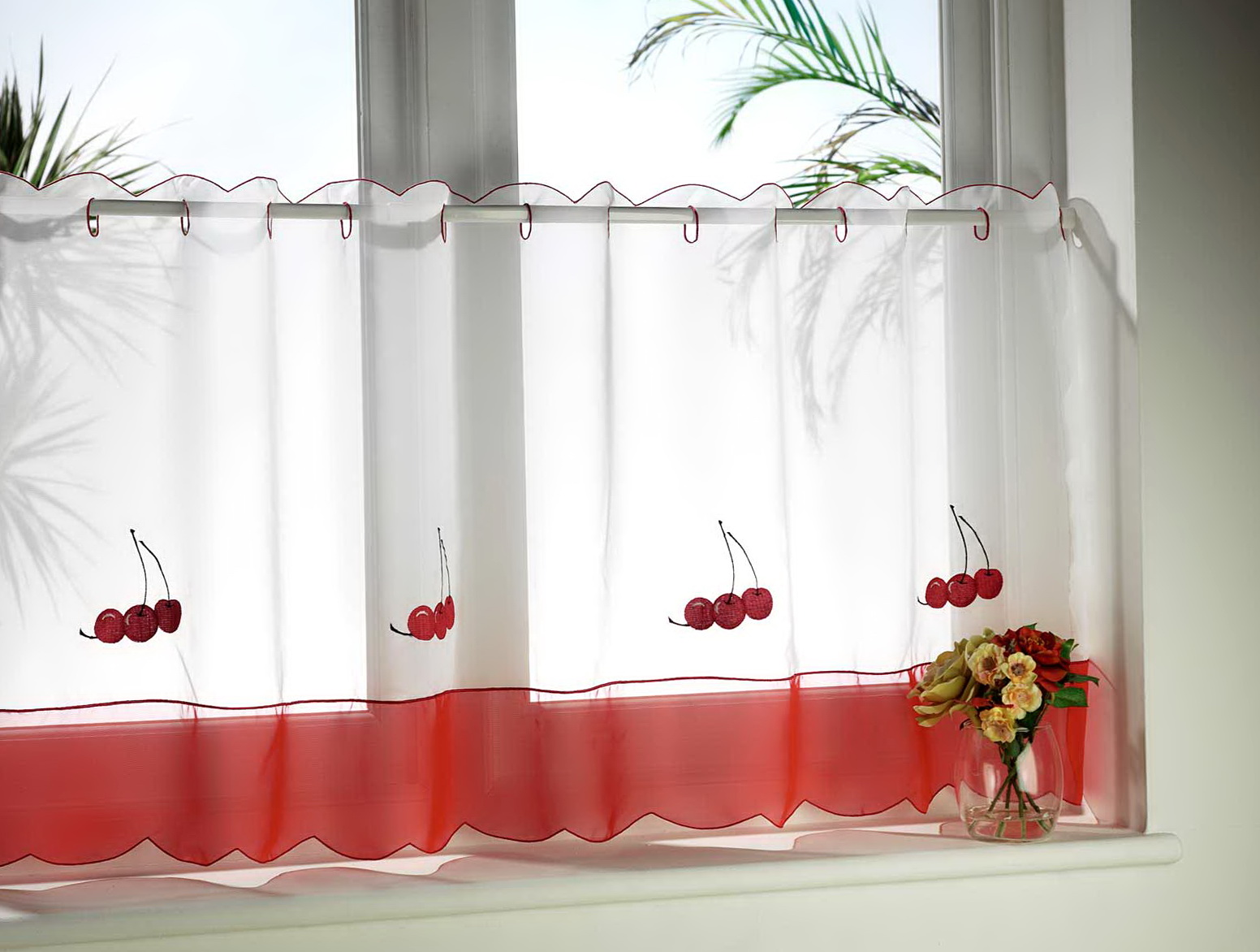 Kitchen Window Curtains Modern