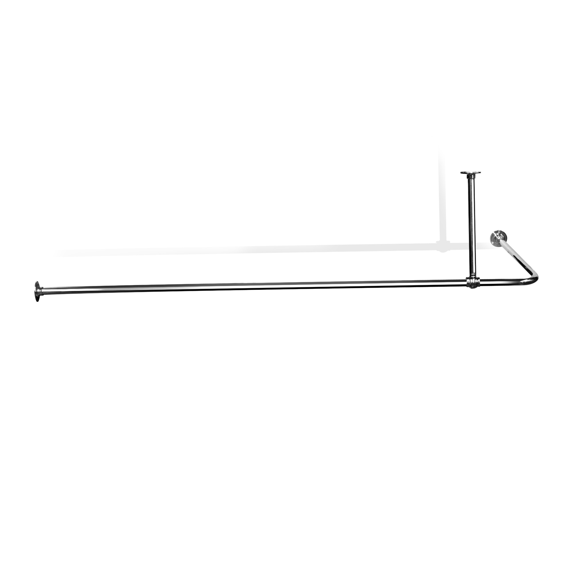 L Shaped Shower Curtain Rod Bed Bath And Beyond Home Design Ideas