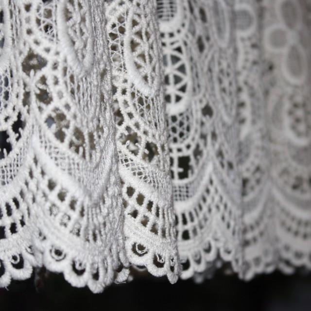 Lace Fabric For Curtains