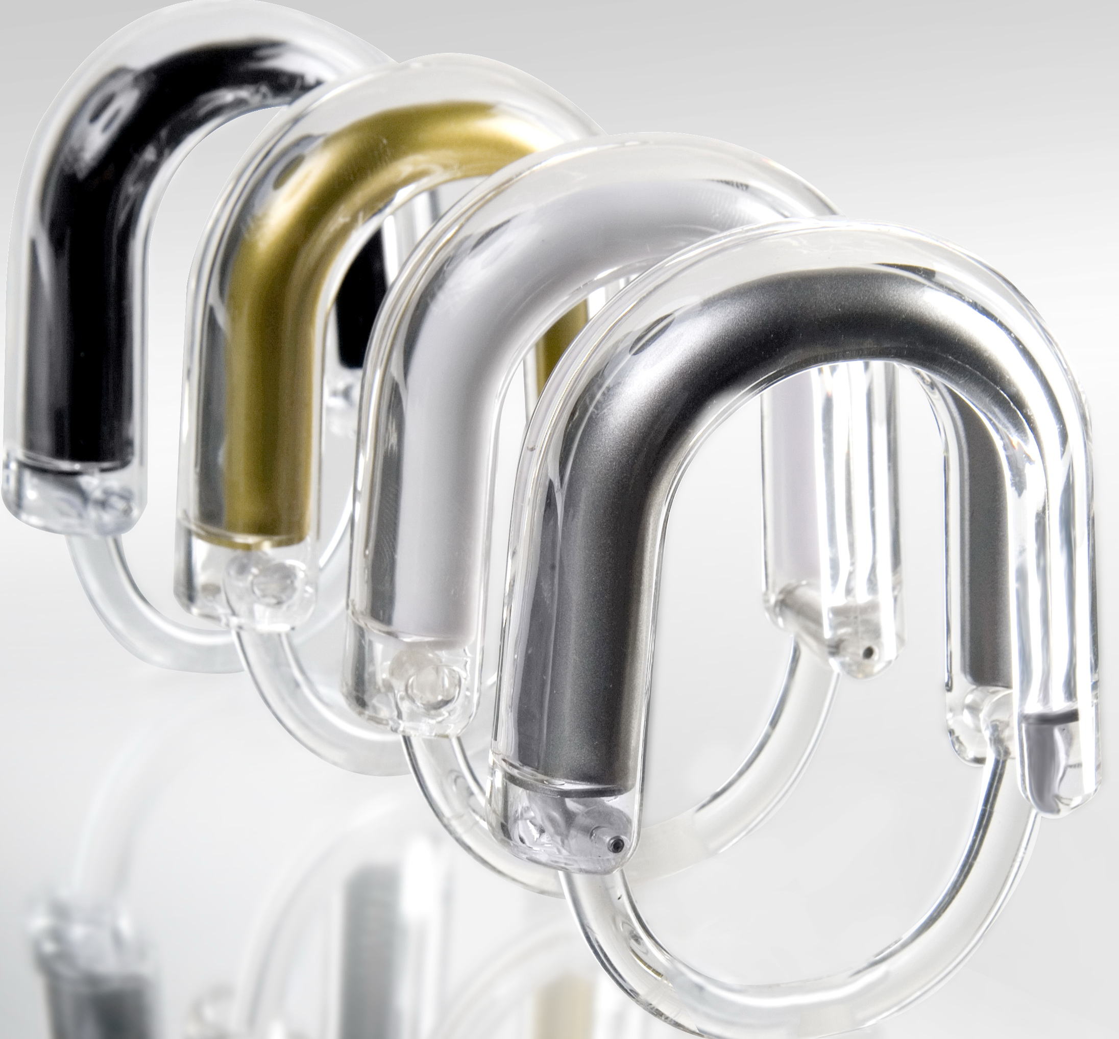 Lovely Large Shower Curtain Rings
