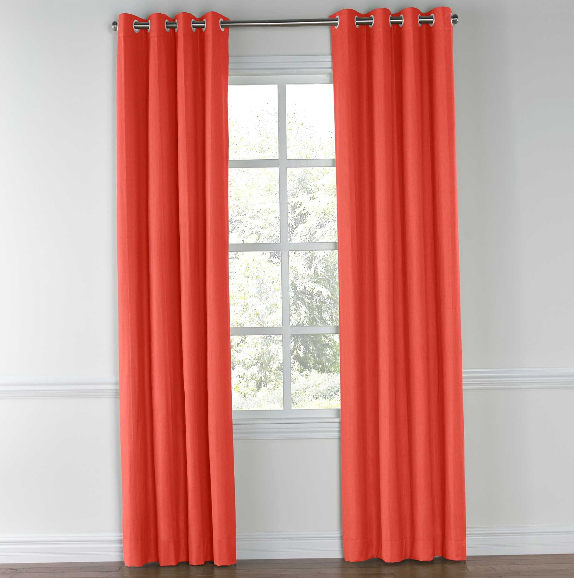 Linen Curtain Panels With Grommets