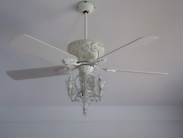 Little Girl Chandelier Ceiling Fan