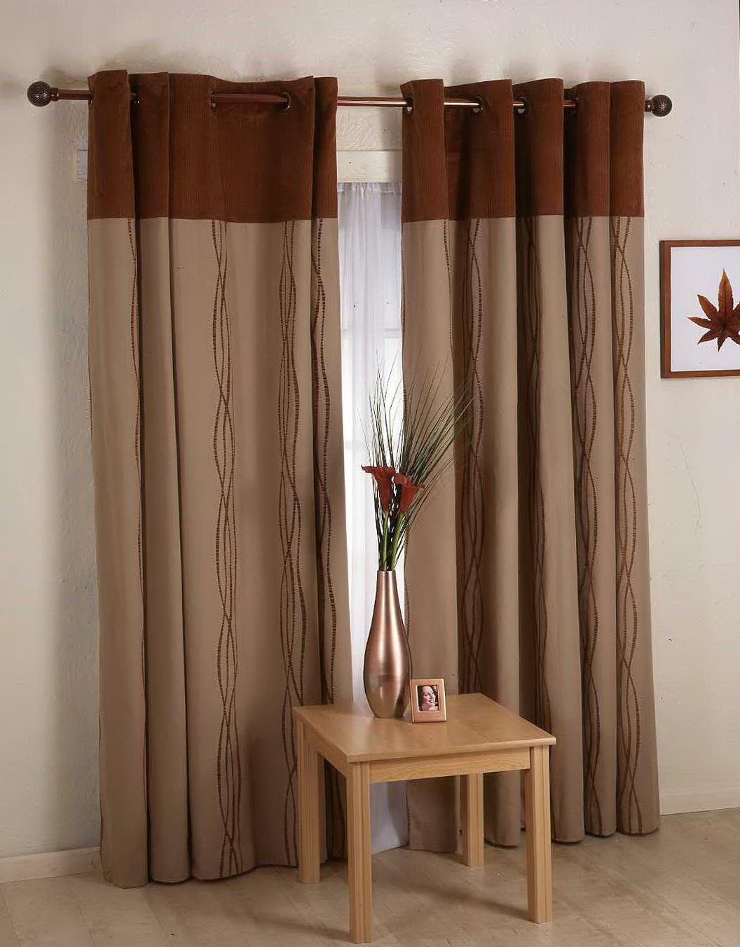 Living Room Curtains Contemporary