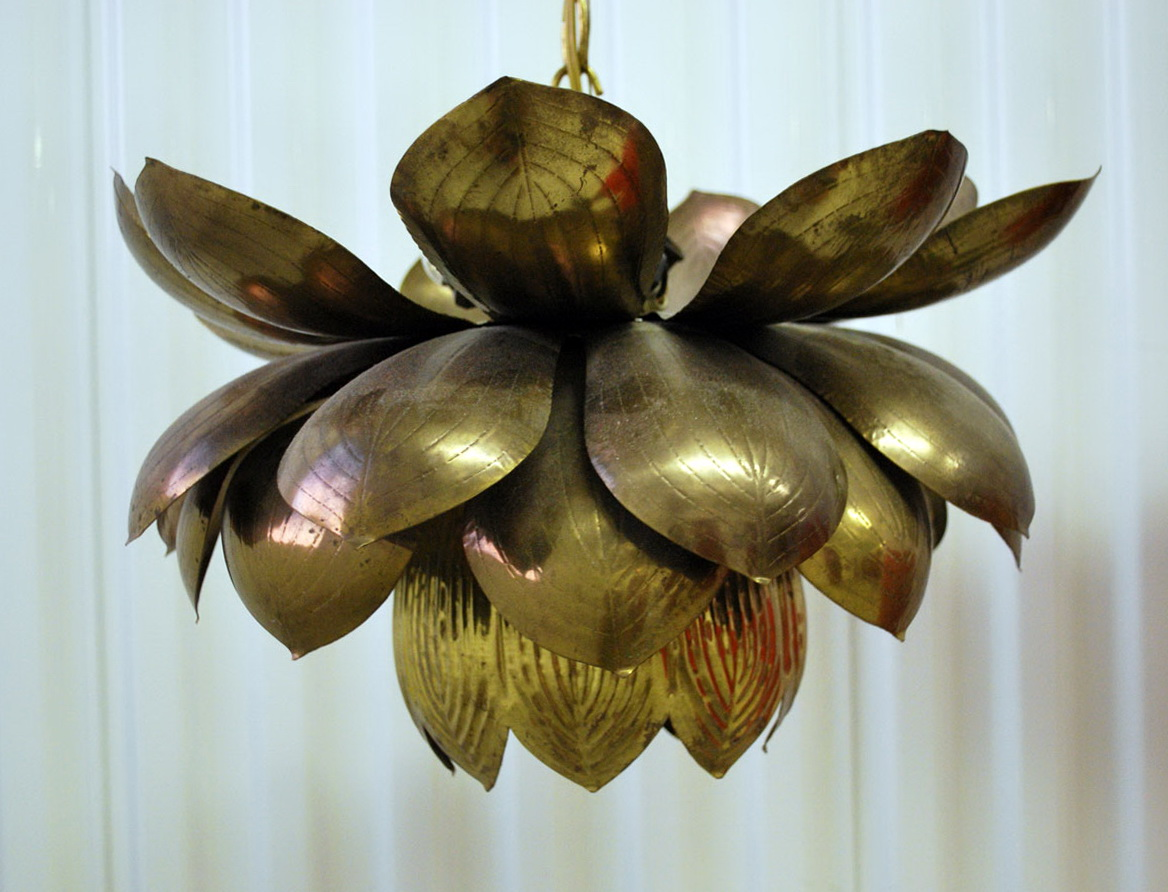 Lotus Flower Chandelier By Roost