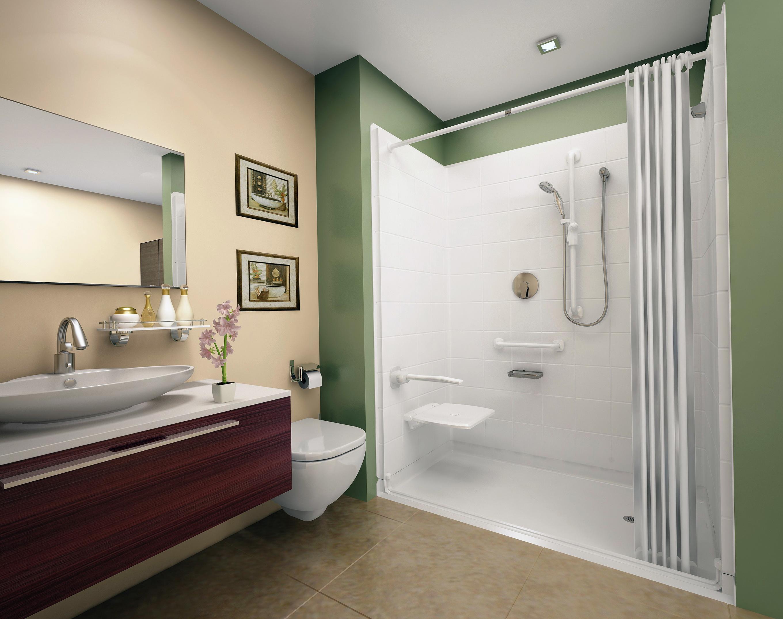 Luxury White Shower Curtains