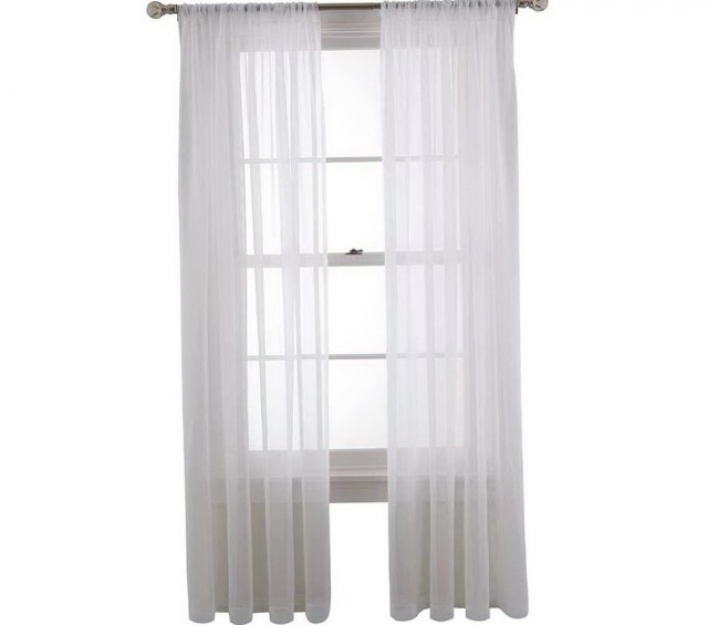 Martha Stewart Sheer Curtains
