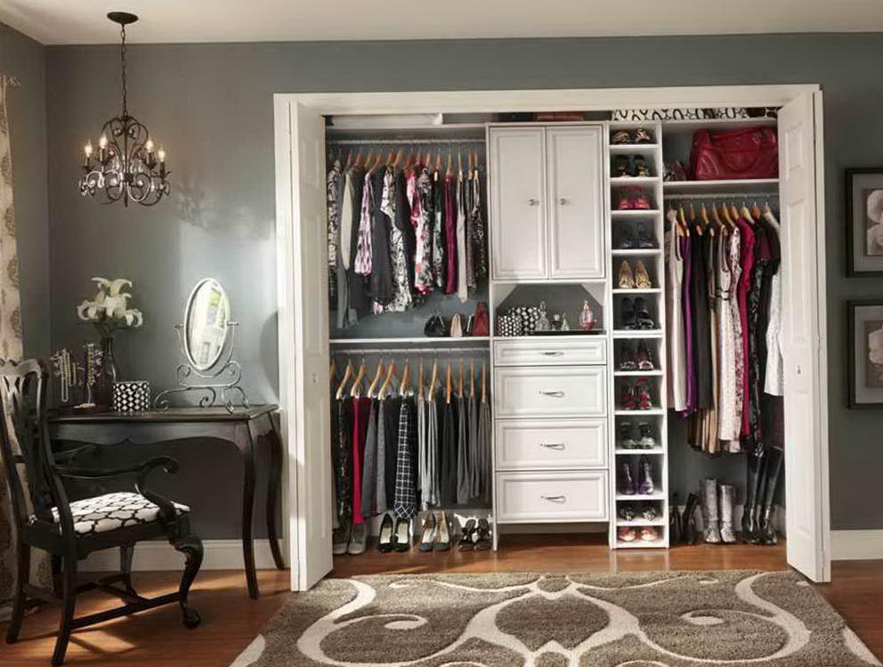 Master Bedroom Closet Organization Home Design Ideas