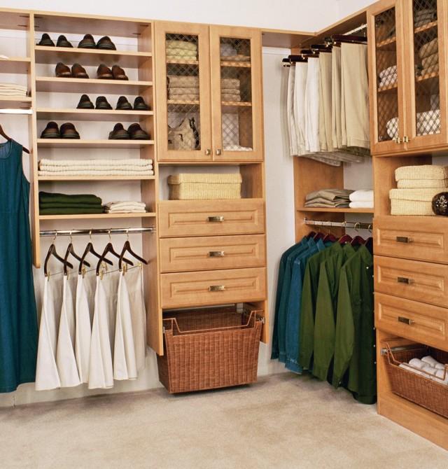 Master Closet Design Dimensions