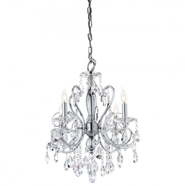 Mini Crystal Chandelier For Bathroom