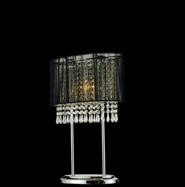 Modern Crystal Chandelier Table Lamp