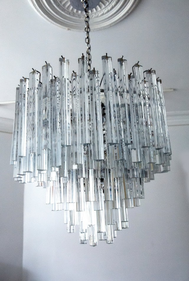 Modern Italian Chandeliers Glass