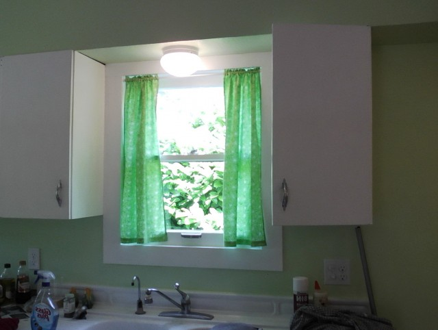 Modern Kitchen Curtains Over Sink