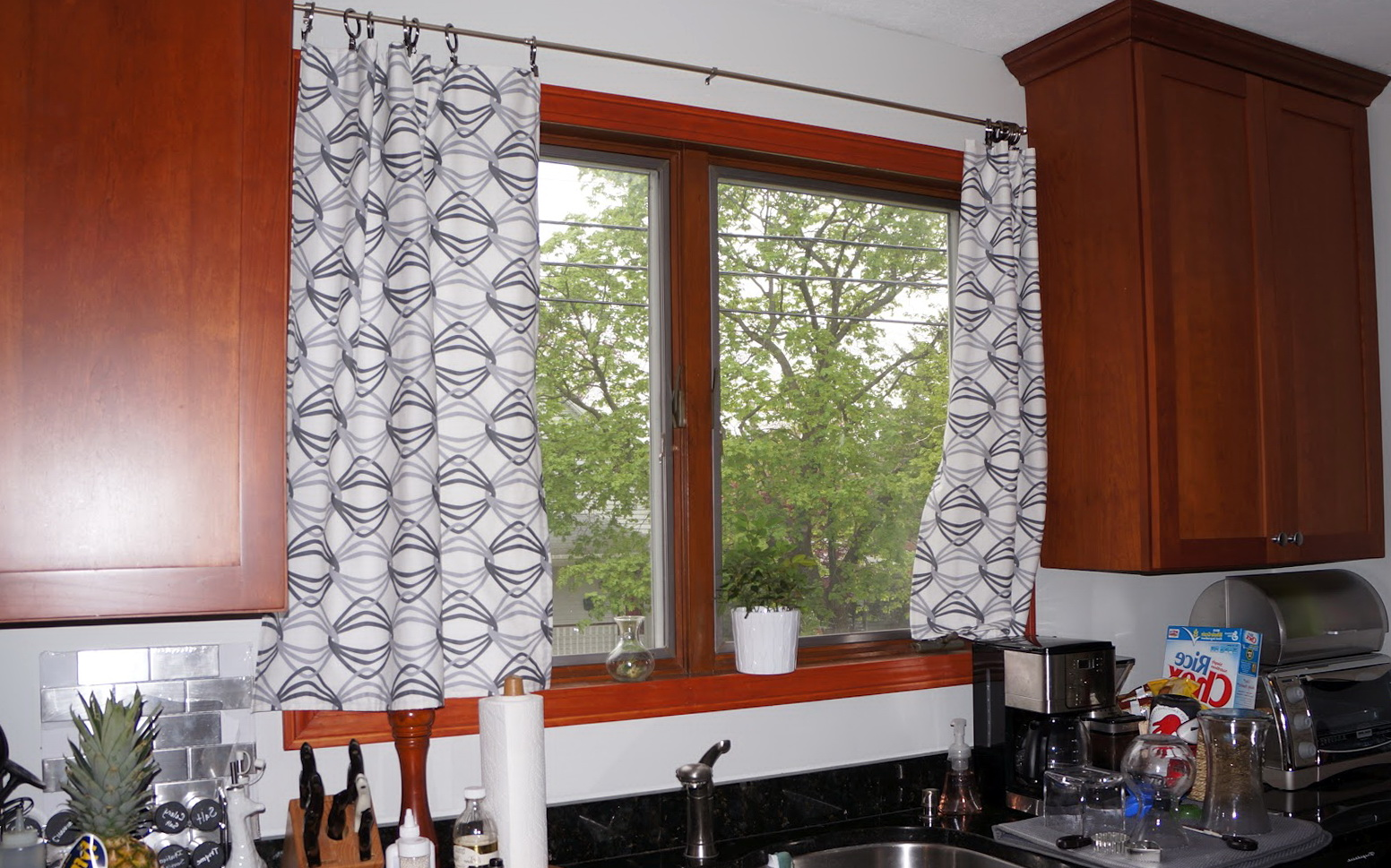 Modern Kitchen Curtains Pinterest Home Design Ideas