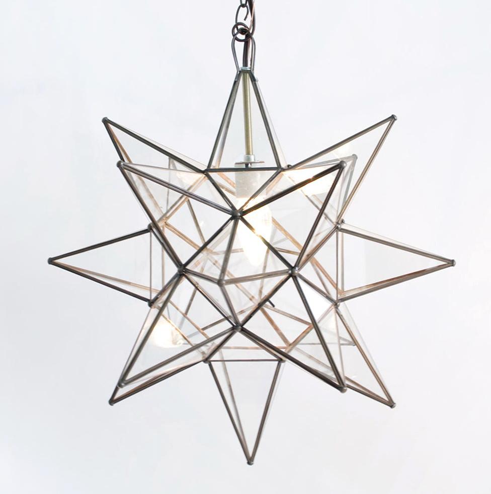 Moravian Star Pendant Chandelier