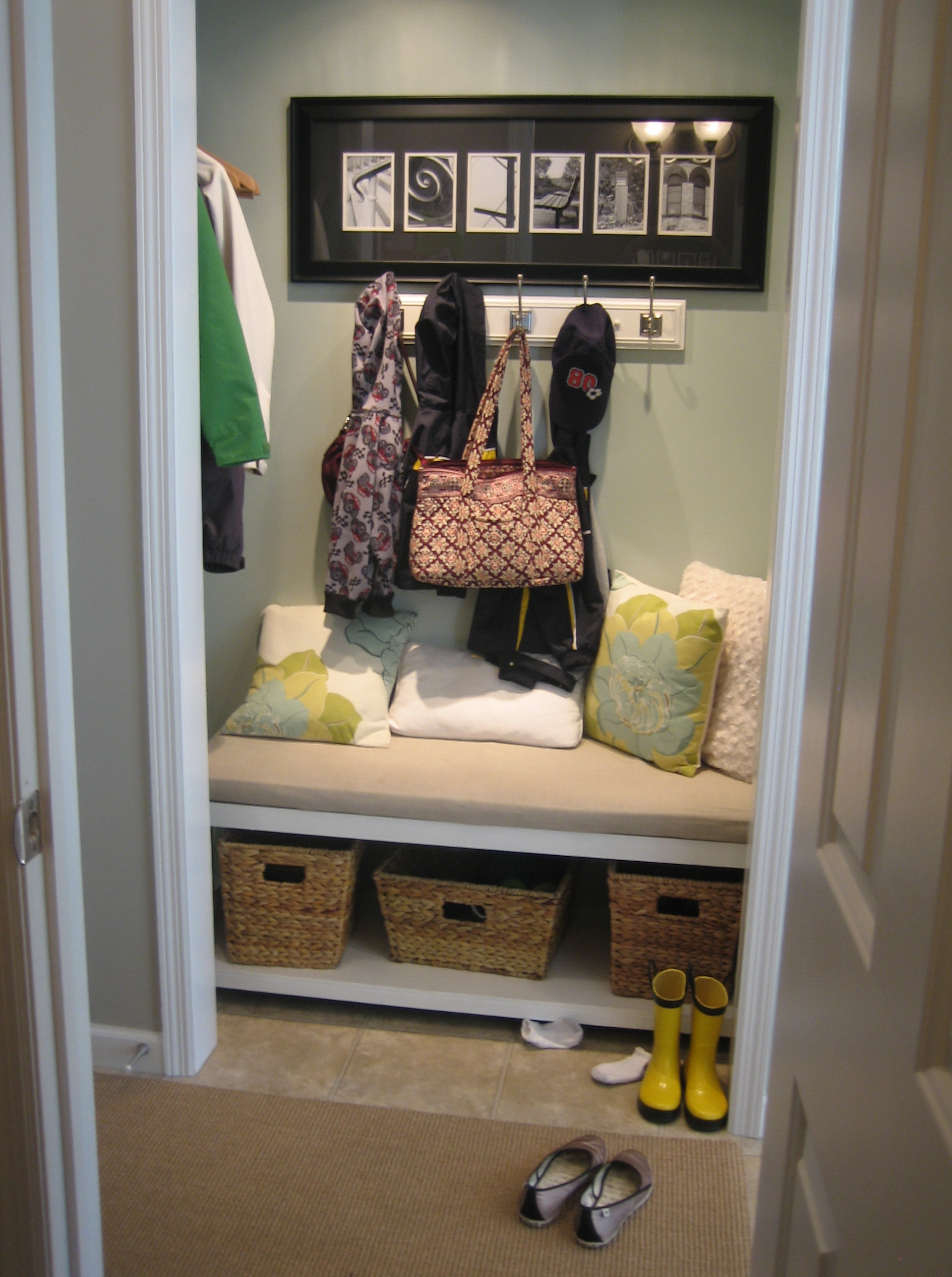 Mudroom Closet Organization Ideas