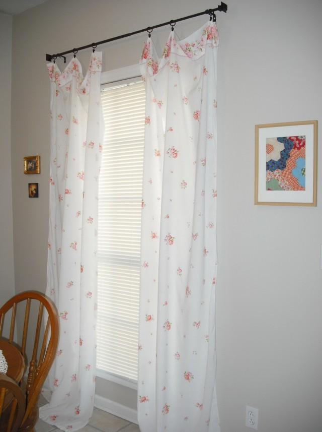 No Sew Curtains Ideas