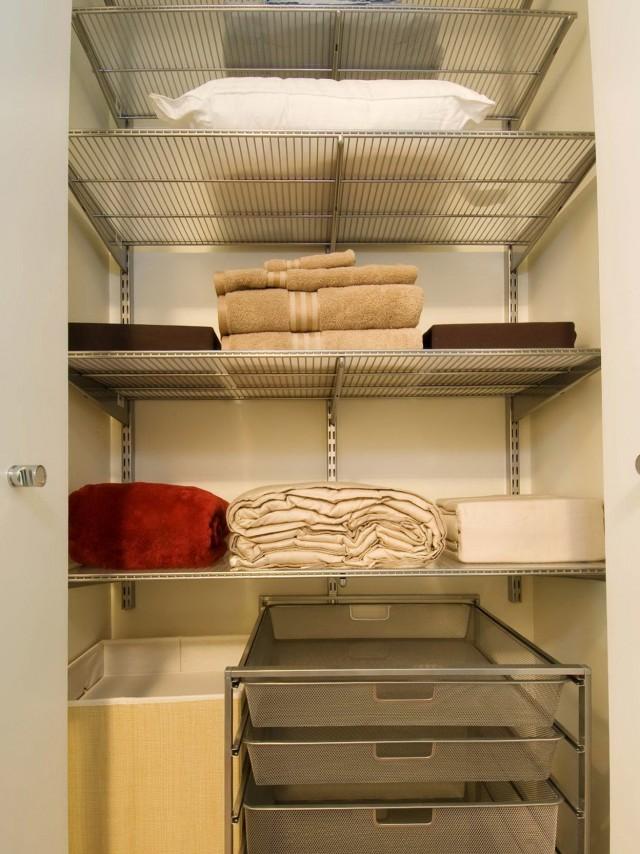 Organize Linen Closet Ideas