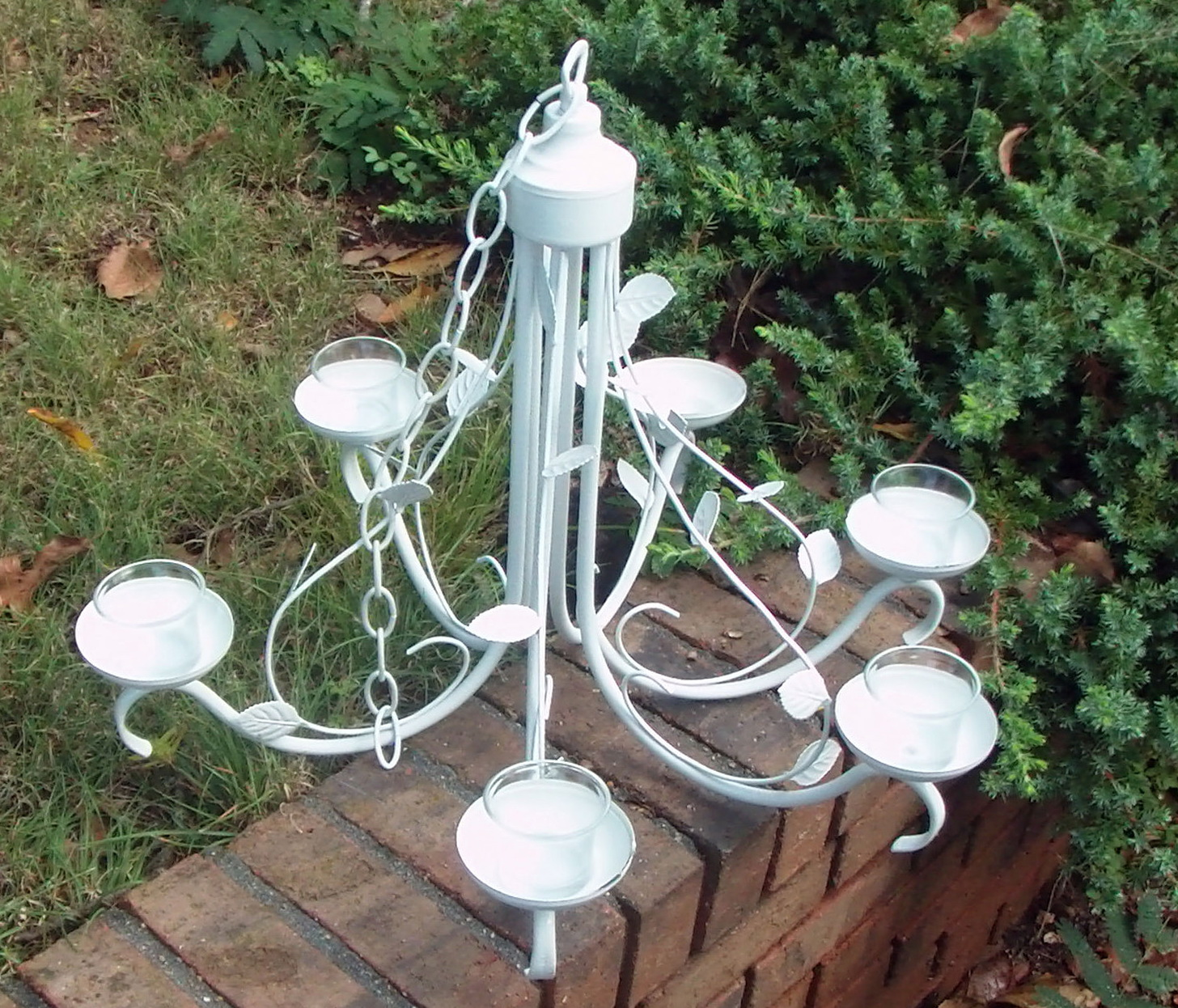 Outdoor Candle Chandelier Diy Home Design Ideas