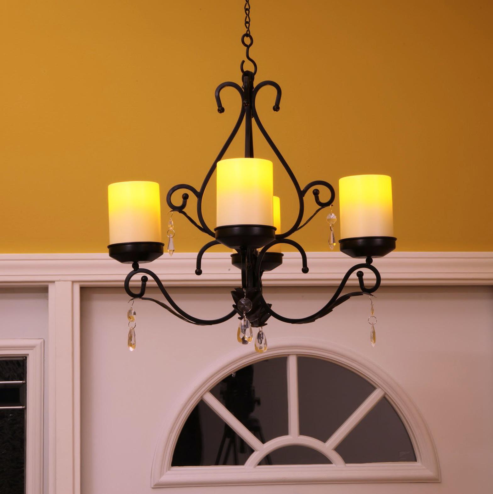 Outdoor Candle Chandelier Non Electric Home Design Ideas