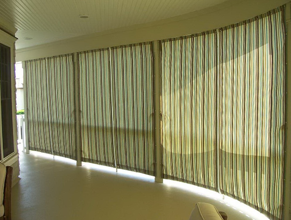 Outdoor Canvas Curtains For Patio Home Design Ideas