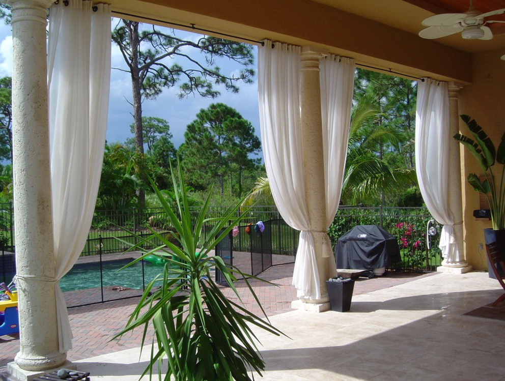 Outdoor Curtain Panels Lowes Home Design Ideas