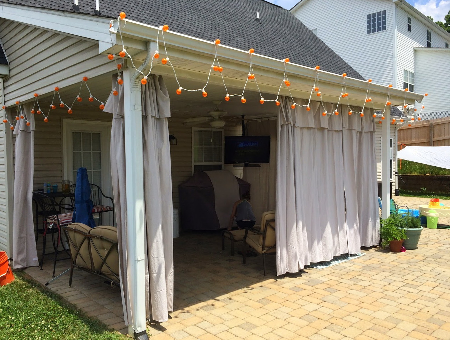 Outdoor Curtains For Patio Home Depot