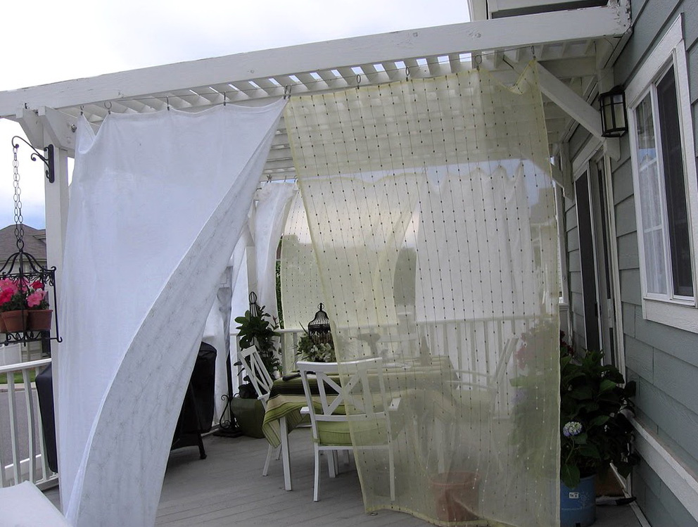 Outdoor Curtains For Patio Ideas Home Design Ideas