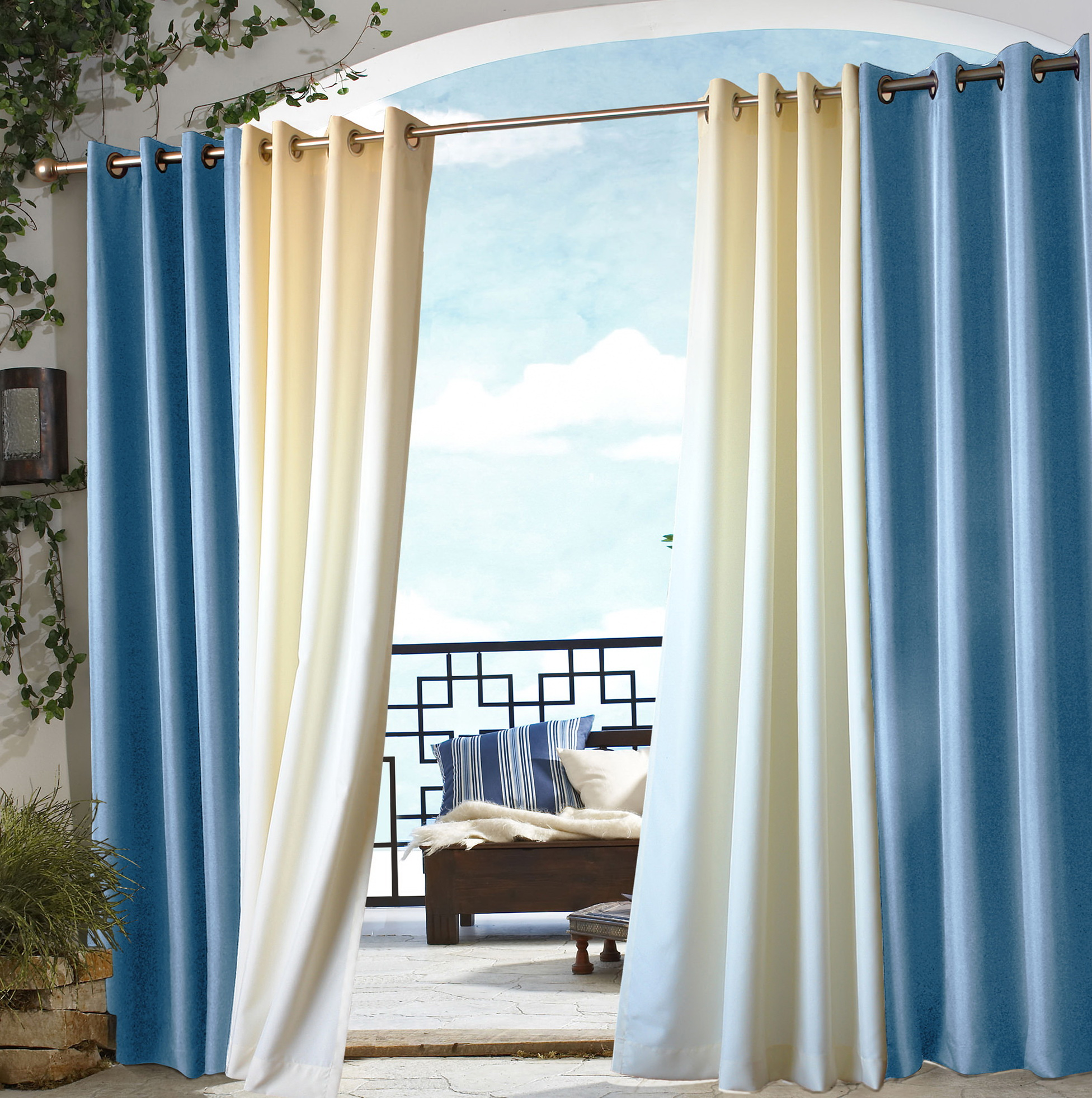 Outdoor Patio Curtains 108 Home Design Ideas