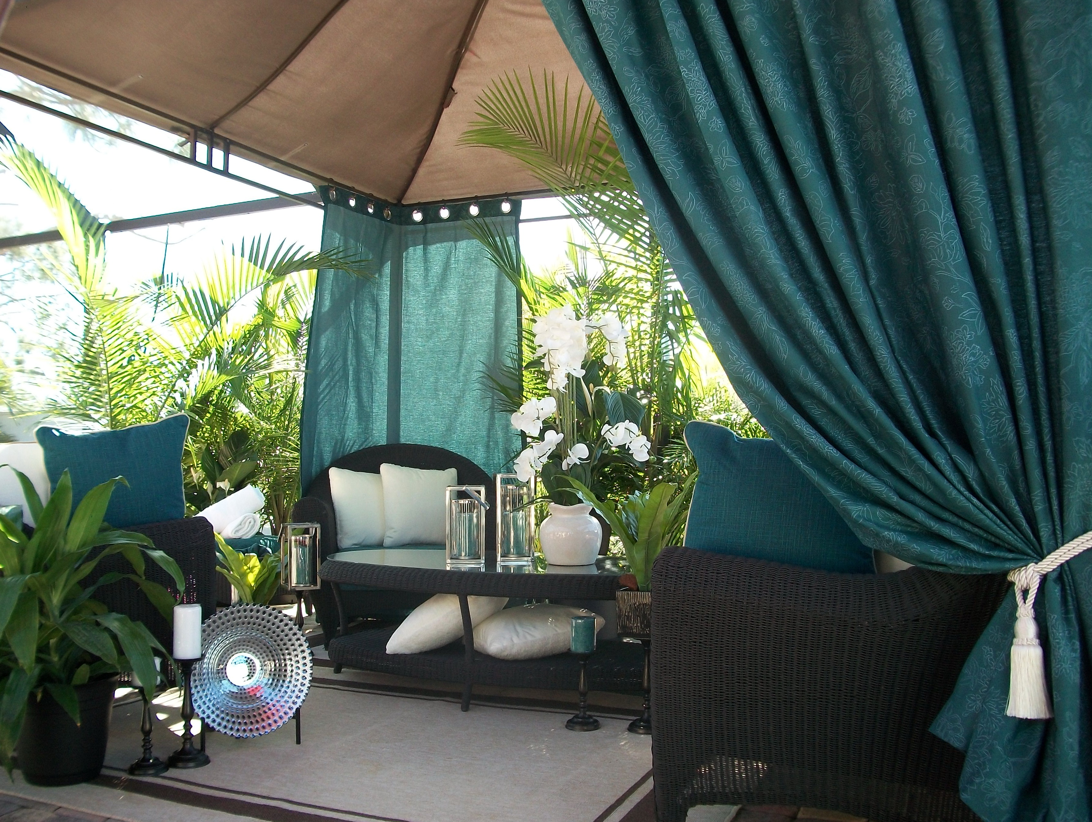 Outdoor Patio Curtains Target