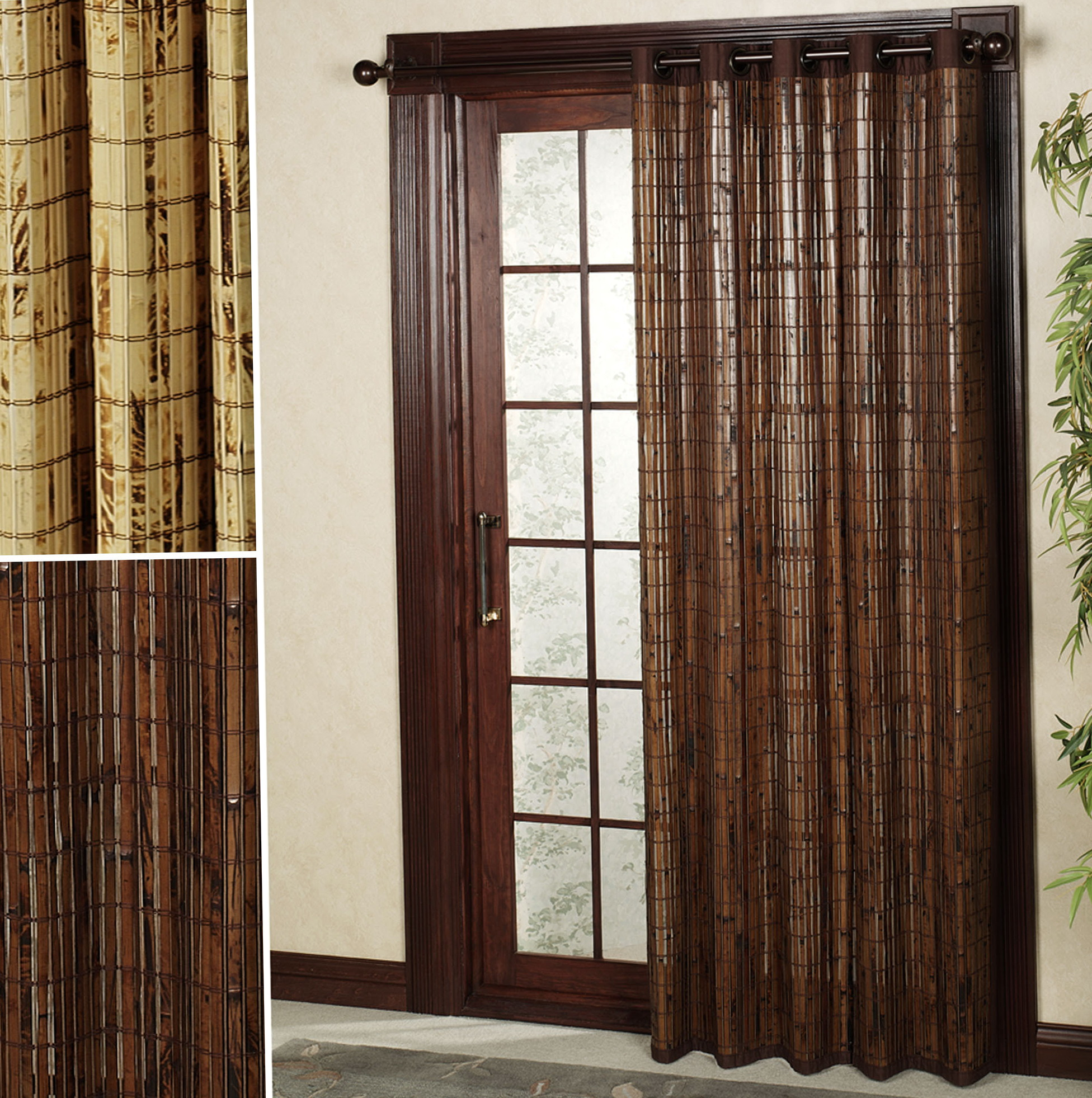 Patio door curtains ideas home design ideas for Balcony door ideas