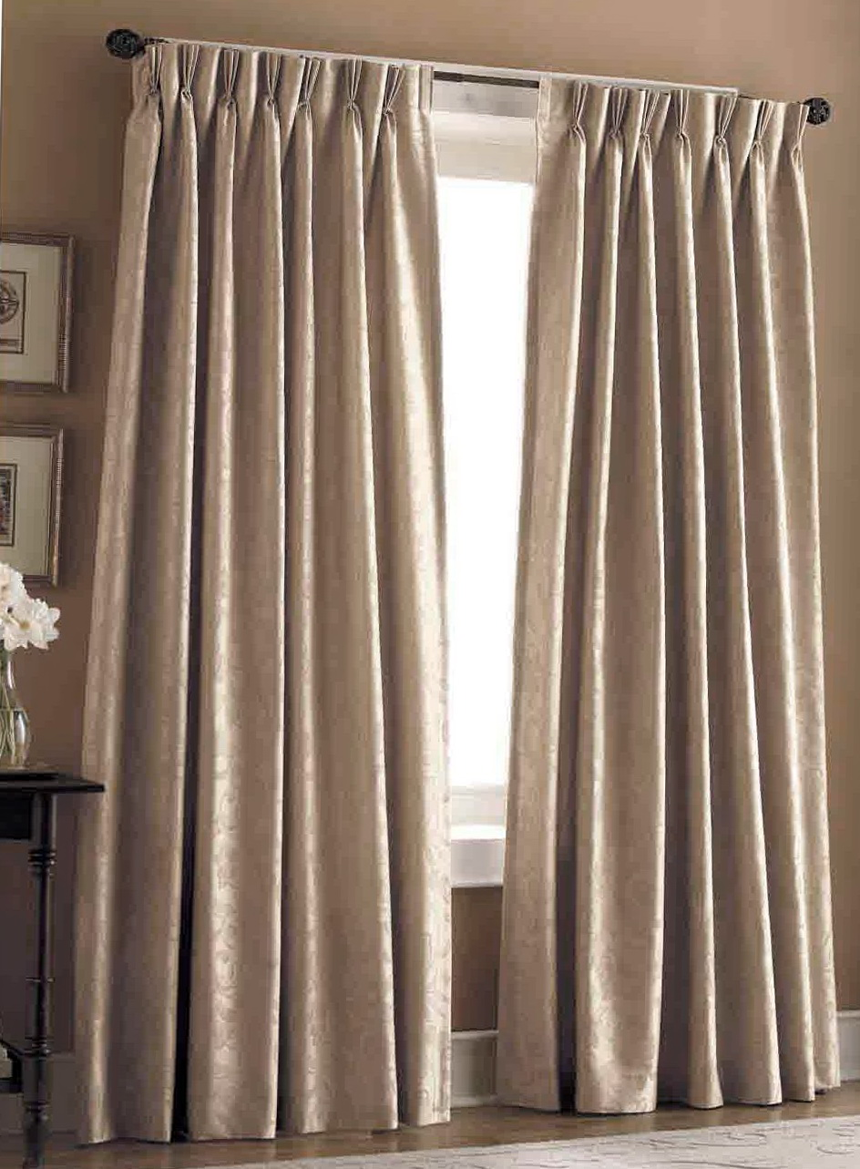 Pinch Pleat Curtains On Track Home Design Ideas