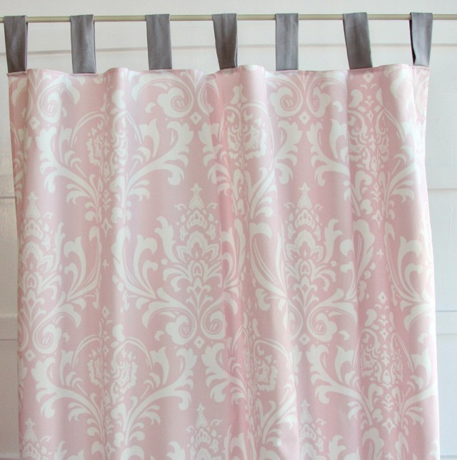Hot Pink And White Curtains | Home Design Ideas