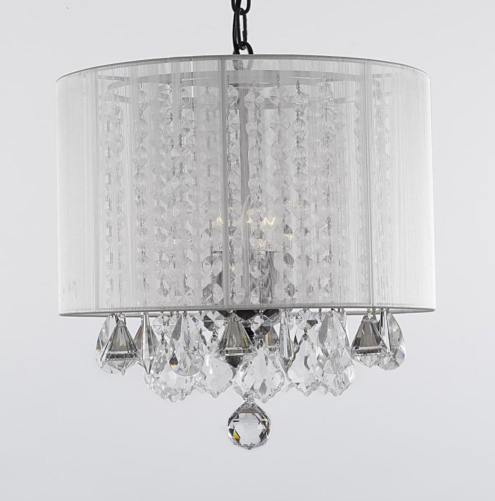 Plug In Crystal Chandelier Lighting Home Design Ideas