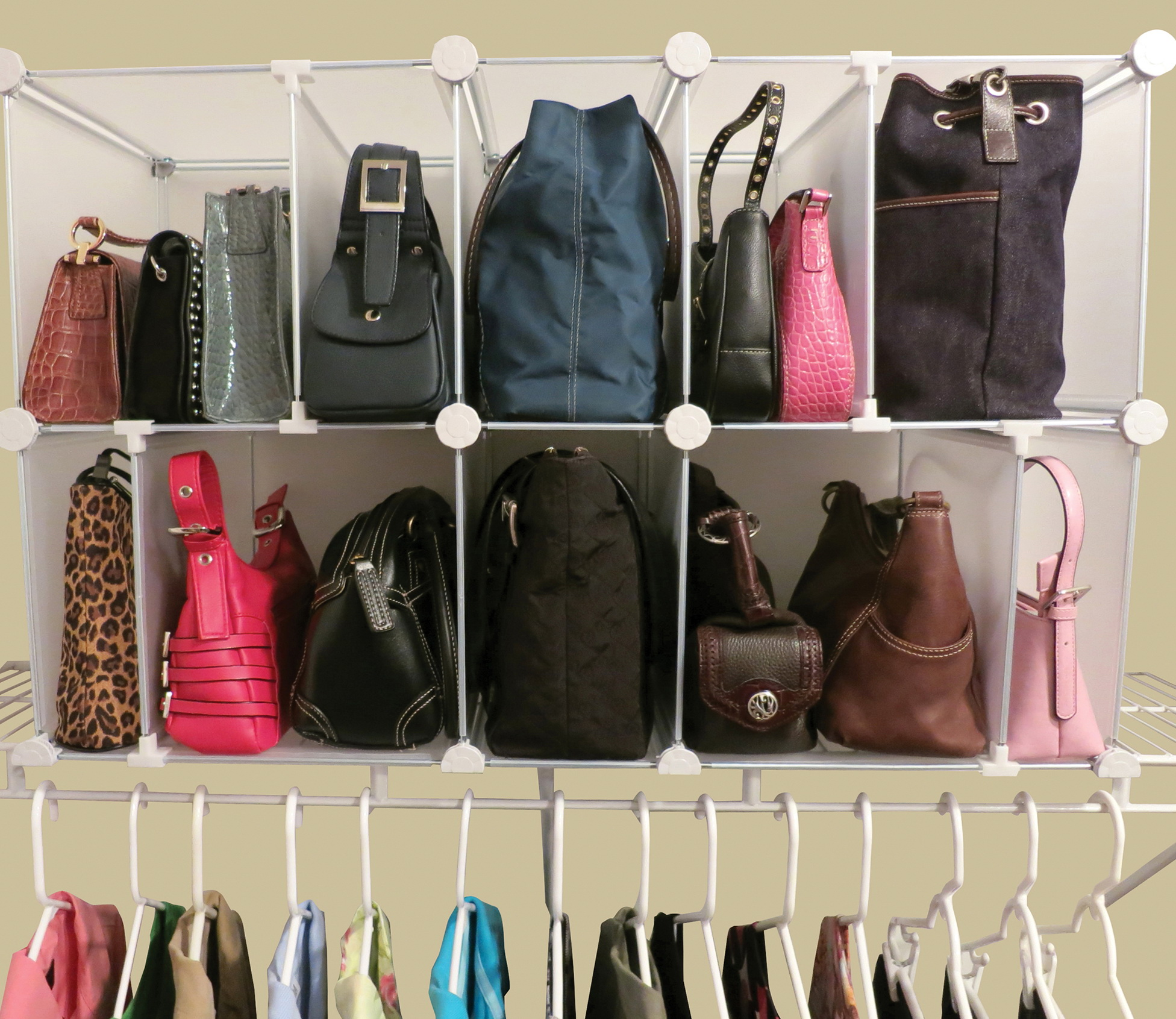 Purse Organizers For Closets