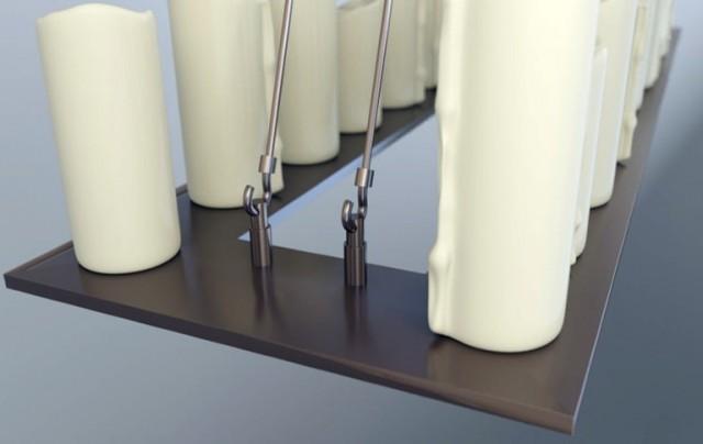 Restoration Hardware Pillar Candle Chandelier