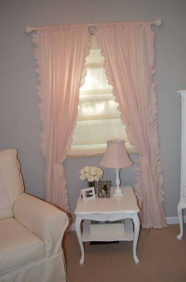Restoration Hardware Pink Curtains