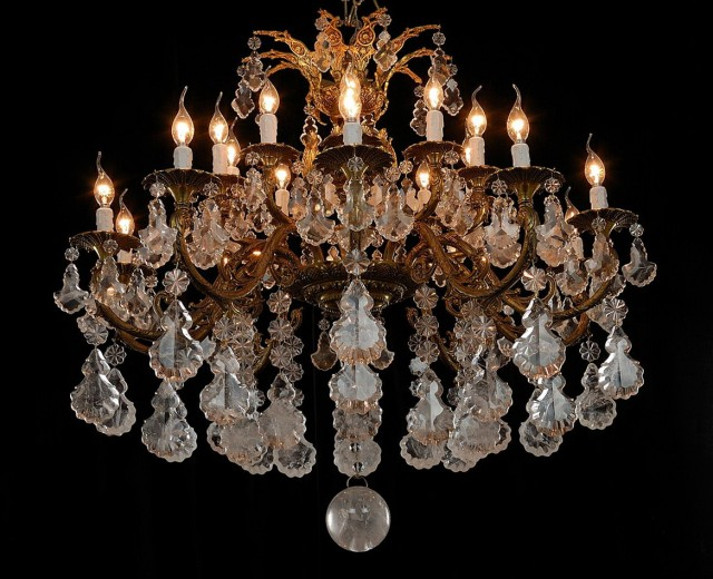 Rock Crystal Chandelier Parts