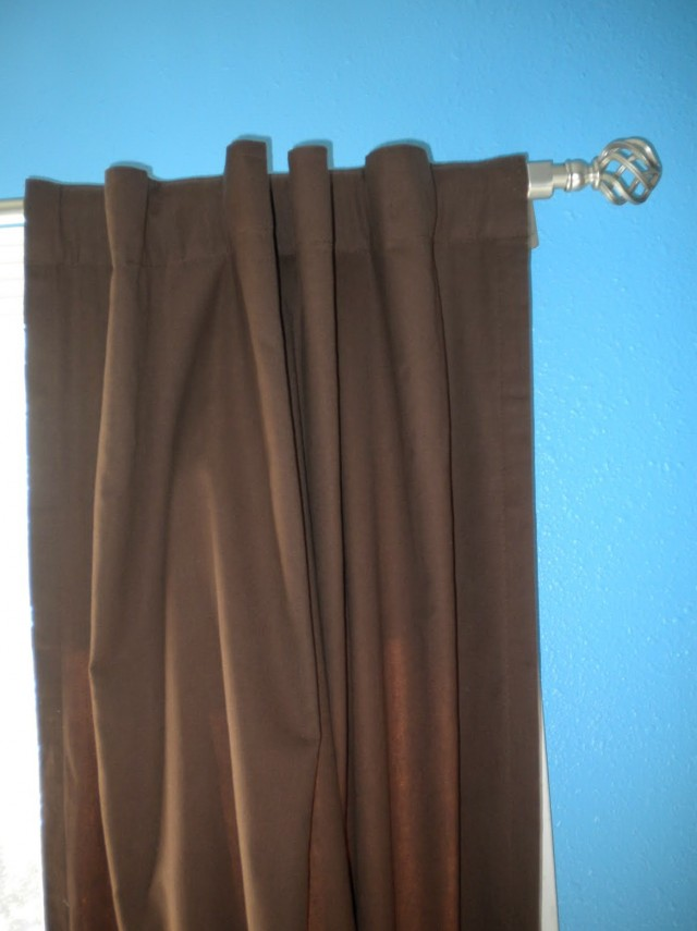 Rod Pocket Curtains Diy