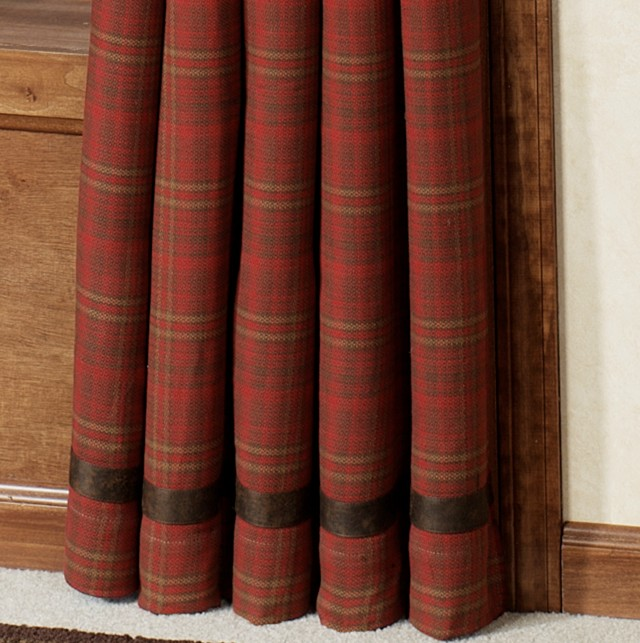 Rustic Cabin Shower Curtains