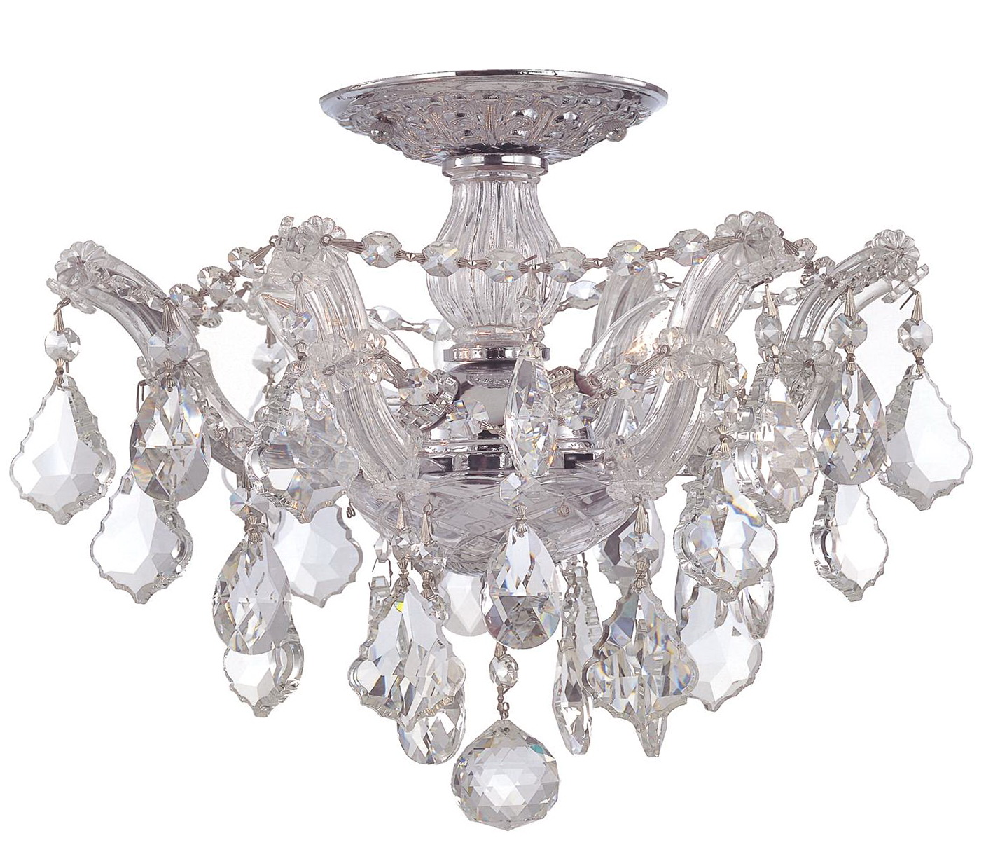 semi flush mount chandeliers home design ideas