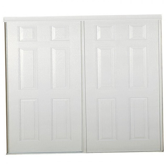 Six Panel Sliding Closet Doors