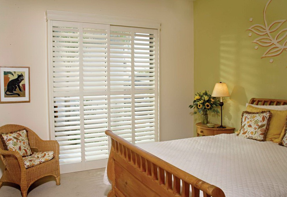 Sliding Glass Door Curtains Over Blinds