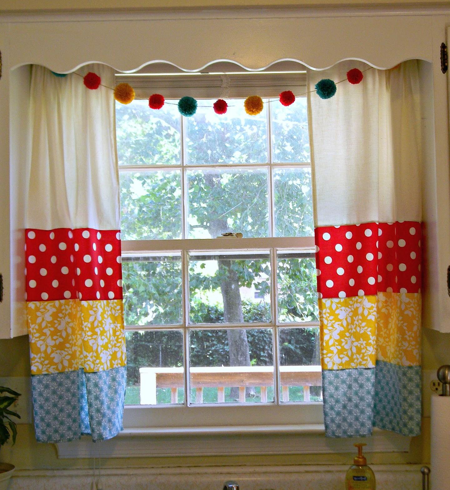 Small Kitchen Window Curtains Home Design Ideas