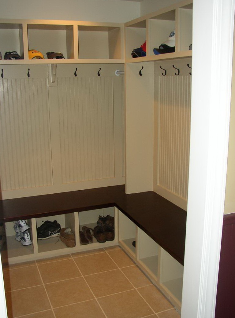 Small Mudroom Closet Ideas