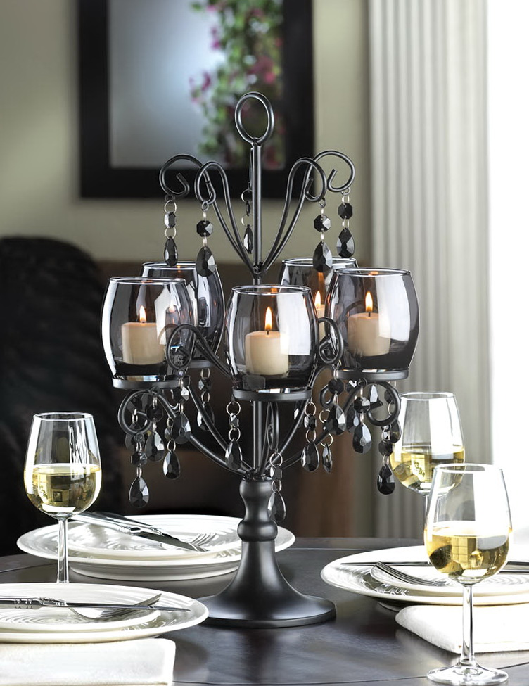 Table Chandelier Candle Holder Home Design Ideas