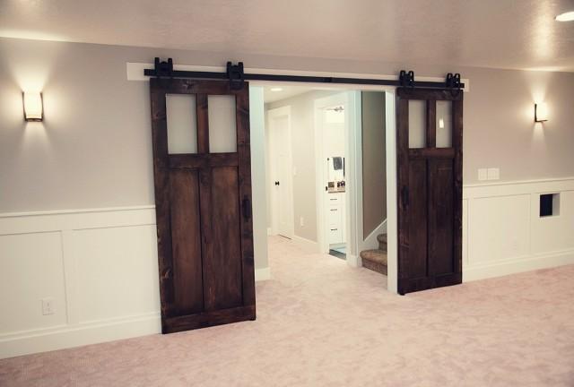 Two Panel Sliding Closet Doors