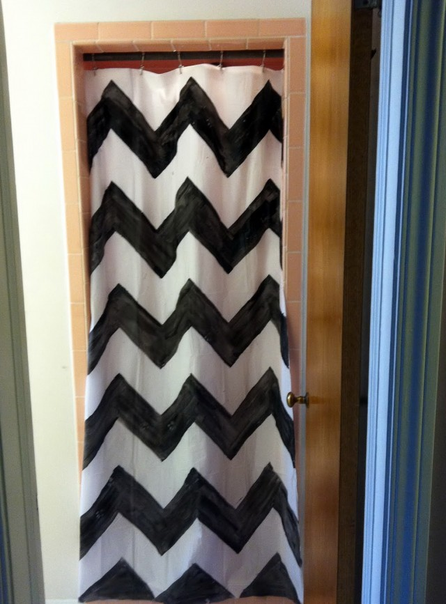 Urban Outfitters Chevron Curtains
