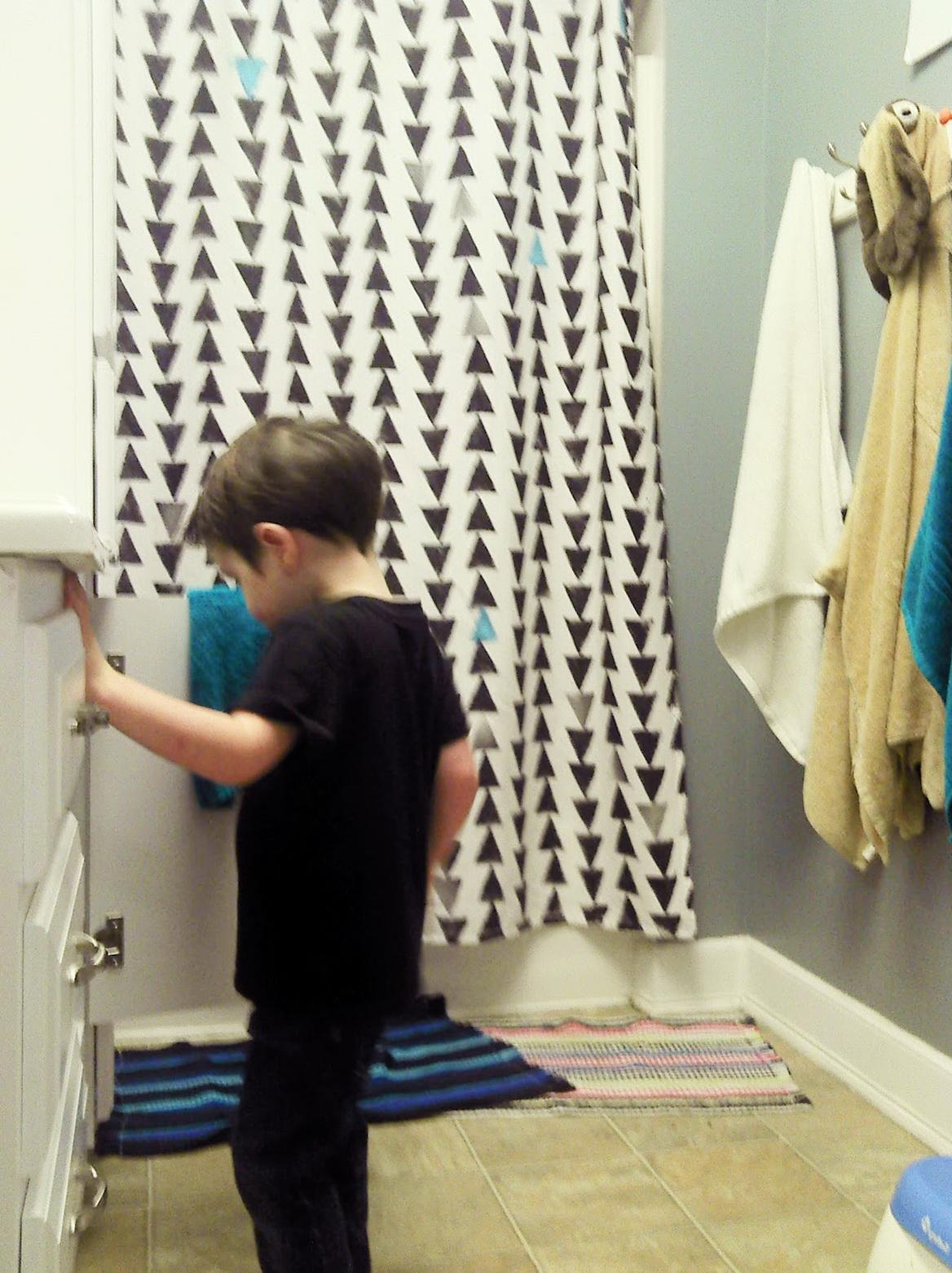 Urban shower curtains