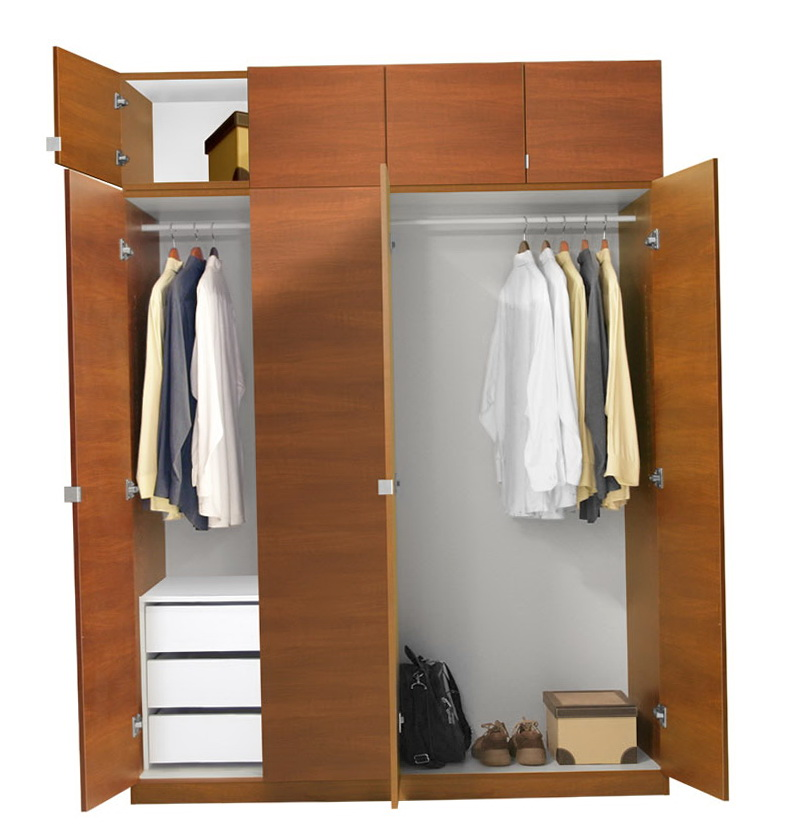 Wardrobe Closet With Drawers