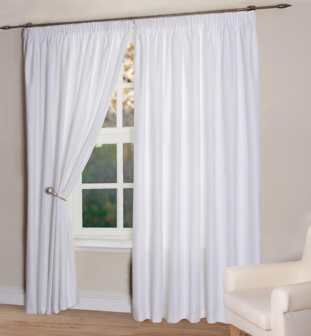 White Blackout Curtains Target